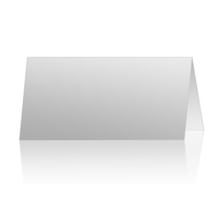 4x8 Horizontal Folded Card