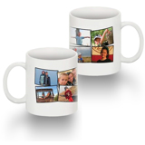 Standard 11 oz Mug Collage 8 Photos No Text