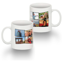 Photo Mug Collage  - 8 Photos