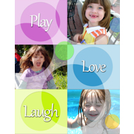 11x14 Circles Collage