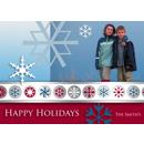 Happy Holidays Snow Flakes