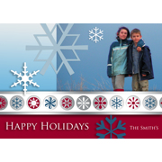 Happy Holidays Snow Flakes