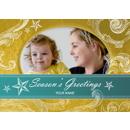 Seasons Greetings Swirls & Stars
