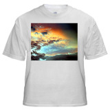 T-Shirt with Large Horizontal Image 10 x 8