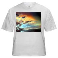 T-Shirt with Large Horizontal Image 10 x 8