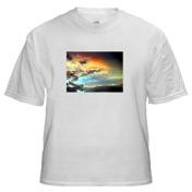 T-Shirt with Medium Horizontal Image 7 x 5