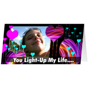 You Light Up My Life...
