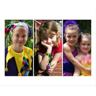 Collage horizontal avec 3 photos verticales de formats identiques - 16 x 20