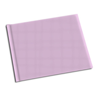 8.5 x 11 Pink Solid Cover Photo Book