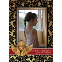 5x7  1 Sided Card - Golden Angel