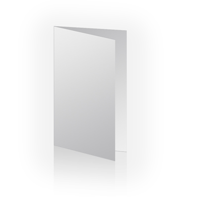 4x8 Vertical Folded Card