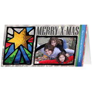 Stained Glass Greetings - Star