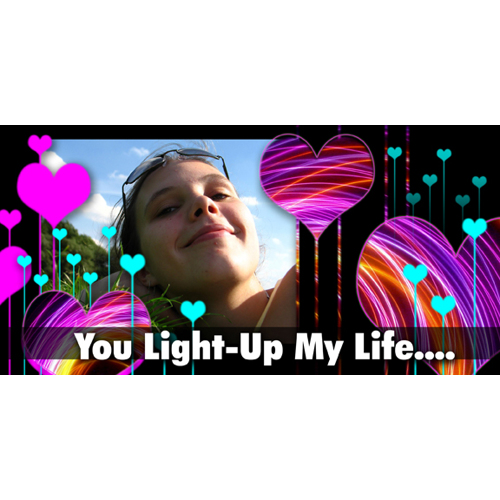 You Light Up My Life…