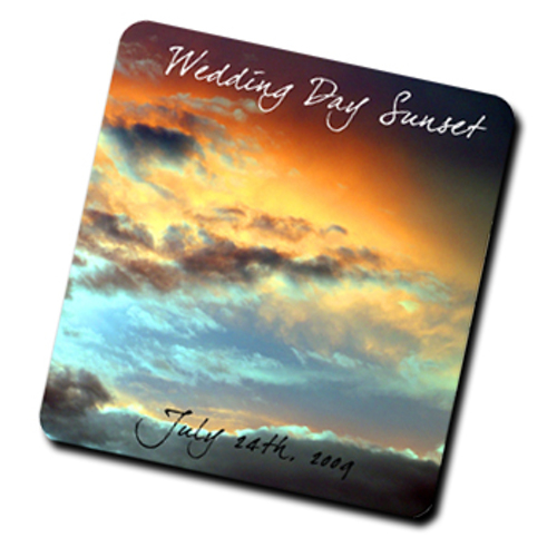 Standard Small Mouse Pad with 1 full image 8  x 7.5