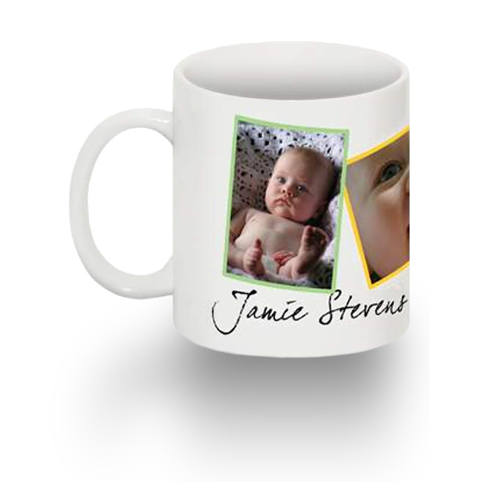 Standard 15 oz Mug Freestyle Layout (white mug w/ black interior)