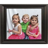 11x14 In Black-Contour Wood Frame (horizontal)
