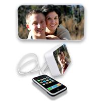 Photo audio speaker