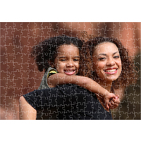 Glossy Wooden Puzzle, 10 x 14, 250 pieces