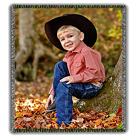 Photo Throw Blanket 54x60