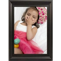 12x18 In Black-Contour Wood Frame (vertical)