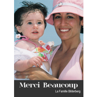 "Carte Merci beaucoup (5""x7"") - Vertical"