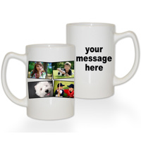 15 oz Premium Mug Collage 4 Photos Text RH