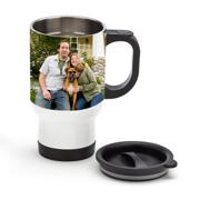 Travel Mug - White 14 oz. (Right Hand)