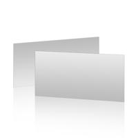 "Carte Non-pliée (8""x4"") - Horizontal"