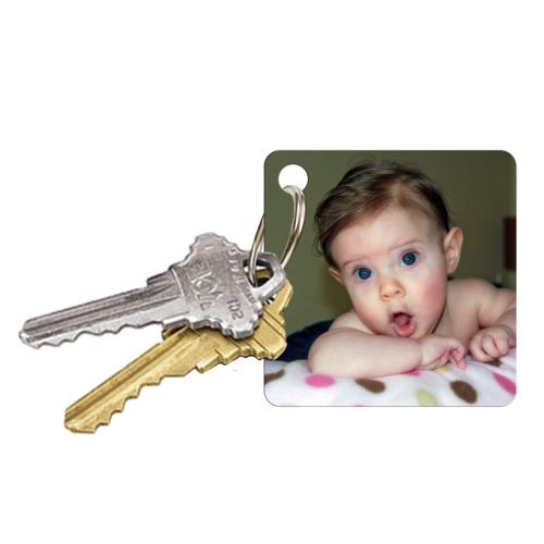 Porte-clés carré