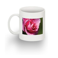 Standard mug with 1 image - Left handed