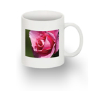 Standard white mug with 1 image facing (RH)