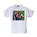 Adult Small White T-Shirt