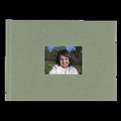 6x8 Hardbound Linen Book with Keyhole (Sage)