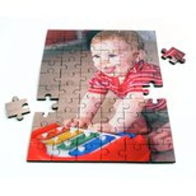 60 piece jigsaw wood- vertical