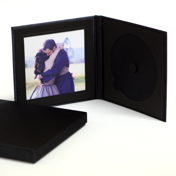 "Black CD Case with 5 x 5"" Image Insert"