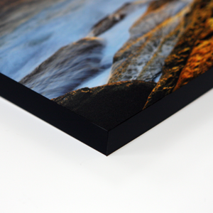 "12 x 18"" 20mm Horizontal Art Mount with Black Edge"