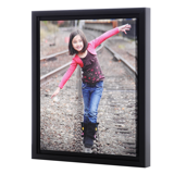 8x10 Framed Gallery-Wrapped Canvas