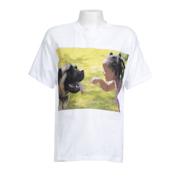 Youth Large White T-Shirt