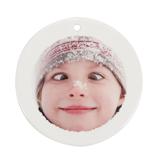 Ceramic Disc Ornament