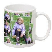 11 oz Ceramic Tiled Photo Mug