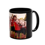 11 oz. Black Patch Mug