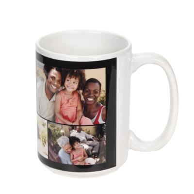 15 oz. Ceramic Collage Photo Mug