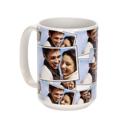 15 oz. Ceramic Tiled Photo Mug