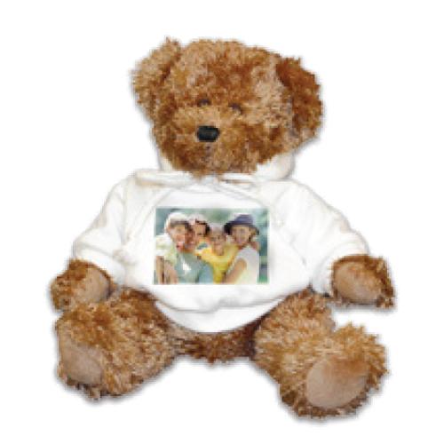 Teddy bear w/sweatshirt