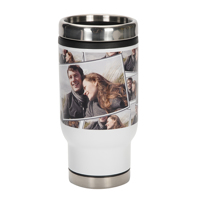 14 oz. Tiled Stainless Steel Tumbler