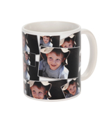 11 oz Tiled Photo Mug