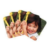 Photo Coasters, Set of 4, 1 Image