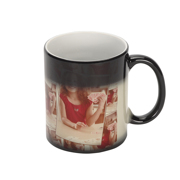 11 oz. Black Tiled Magic Mug