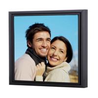 20 x 20 Framed Brushstroke Gallery-Wrapped Canvas