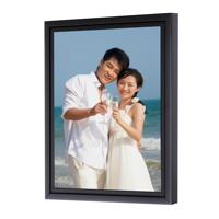 24 x 36 Framed Brushstroke Gallery-Wrapped Canvas